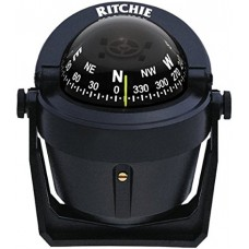 Bússola Explorer com Suporte - Preto - Ritchie