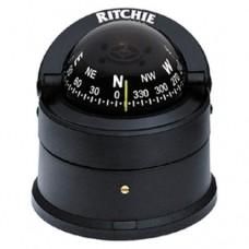 Bússola Explorer sobre Base - Preto - Ritchie