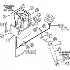Acessórios Circuito Hidráulico - Tubos 6.1 mt - Bennett Trim Tabs