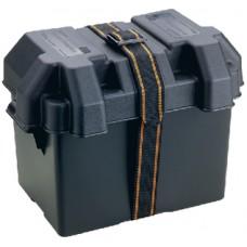 Caixa Suporte de Bateria - Compatível c/ Grupo 24- Attwood