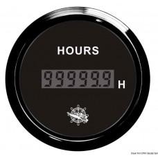 Conta-Horas Digital - Preto/ Preto - Osculati
