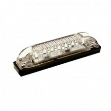 Faixa 6 LEDs submersível - Branco - Seachoice