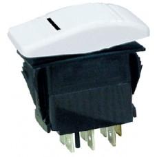 Interruptor Basculante Contura - Branco - 3 Terminais - Seachoice