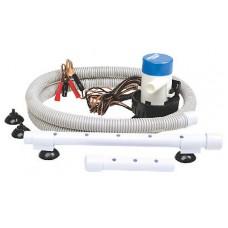 Kit Recirculação Viveiro - 1360 Lt/hora - Seachoice