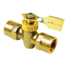 Válvula Bronze 2 Sentidos - 6mm x 6mm NPT (Bocas Macho/Fêmea) - Seachoice