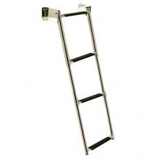 Escada de Popa Telescópica - 3 Degraus - Seachoice