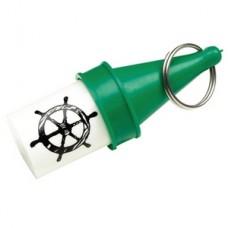 Porta-Chaves Flutuante Porta Objetos - Verde - Seachoice