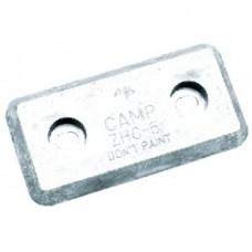 Ânodo Tipo Placa - 203mm x 102mm x 19mm - Camp Co