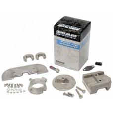 Kit de anodos em aluminio para coluna Mercruiser Alfa One Geracao II