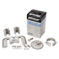 Kit de anodos em aluminio para coluna Mercruiser Bravo I
