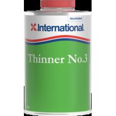 Diluente para Antivegetativos Thinner No. 3 - 1 Lt - International