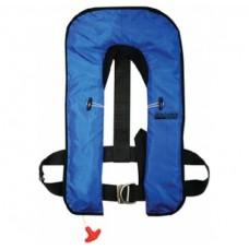 Colete Salva-Vidas Insuflável Manual Azul - Seachoice