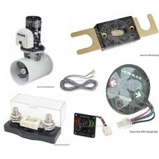 Motor de proa Lewmar kit completo com motor / Painel de controlo / cabo conecçao / caixa de fusiveis / Tubo de fibra