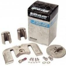 Kit de anodos em aluminio para coluna Mercruiser Bravo II